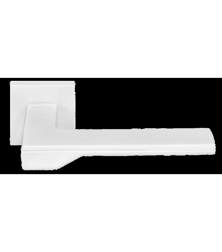 """Дверные ручки Morelli """"Pierres"""" DIY MH-49-S6 W Цвет - Белый"""