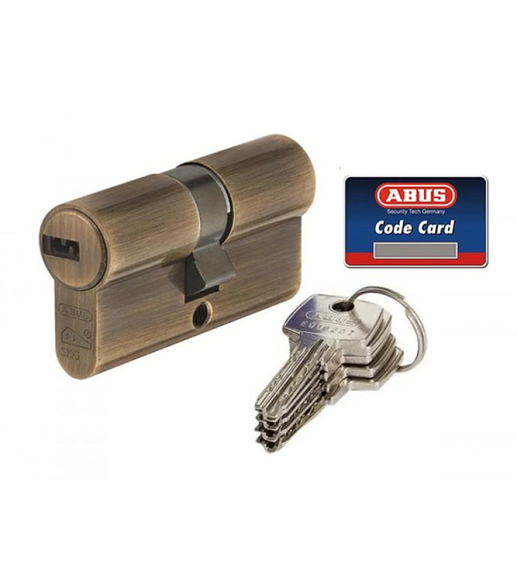 Цилидровый Механизм Abus D10 100 (50*50) ключ-ключ