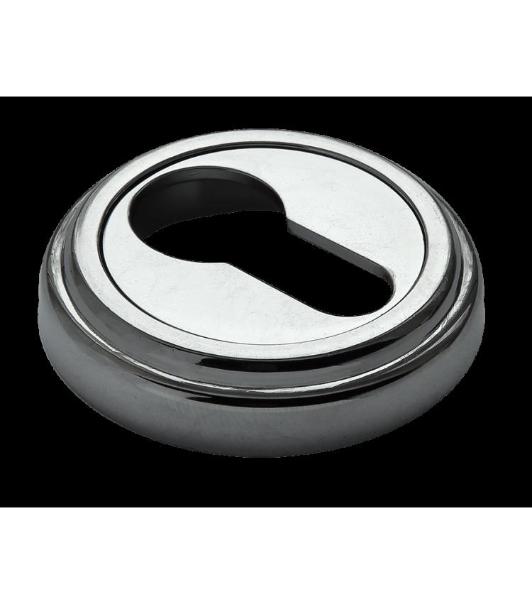 Накладки на ключевой цилиндр MORELLI MH-KH-CLASSIC PC Цвет - хром