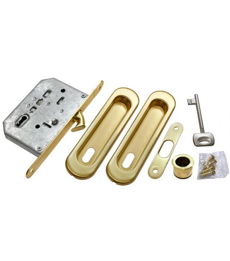 Комплект для раздвижных дверей MORELLI MHS150 L SG Цвет - Матовое золото