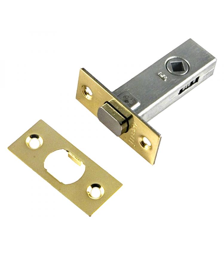 Дверная задвижка Morelli врезная B6-45 PG Цвет - Золото