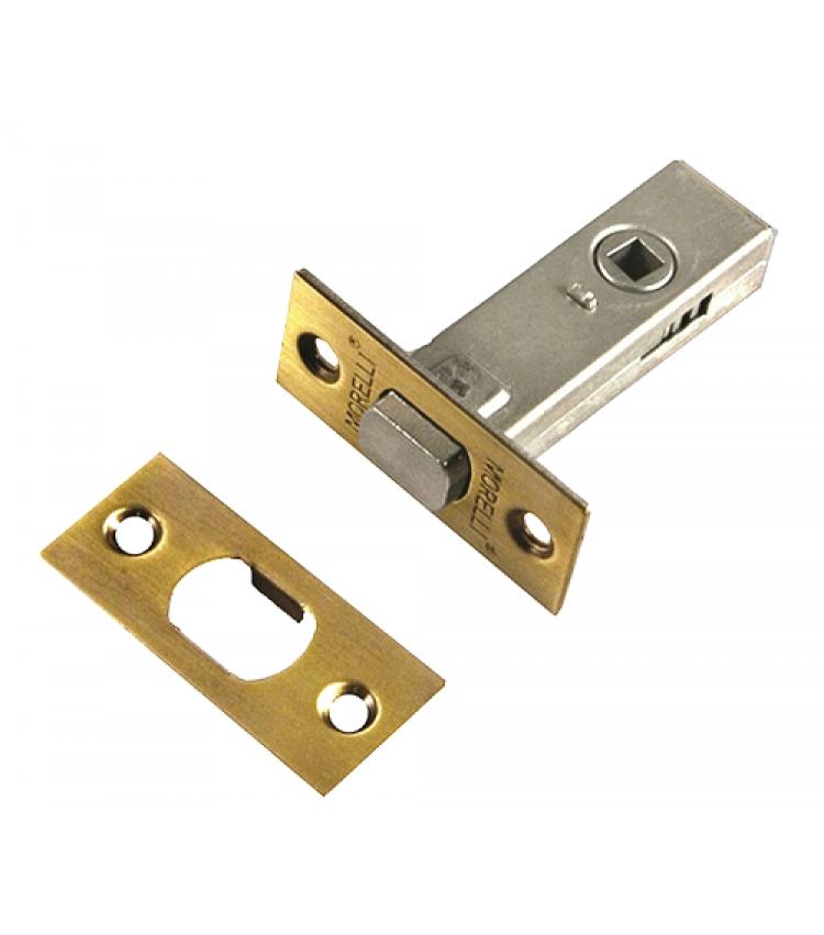 Дверная задвижка Morelli врезная B6-45 AB Цвет - Античная бронза