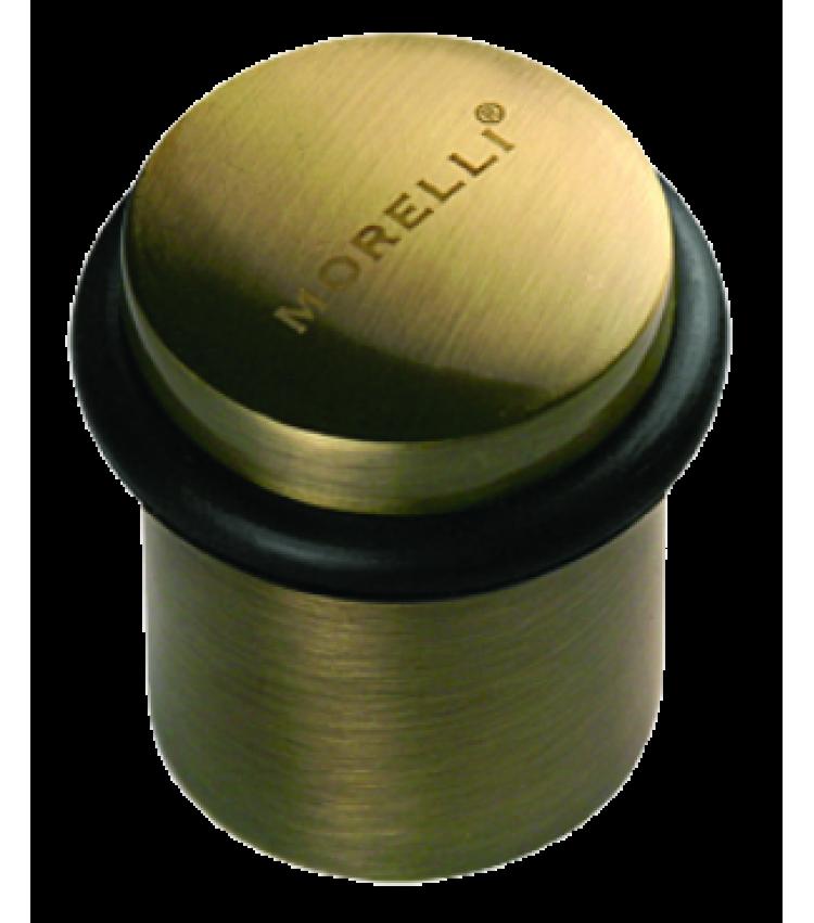 Дверной ограничитель Morelli DS3 AB Цвет - Античная бронза