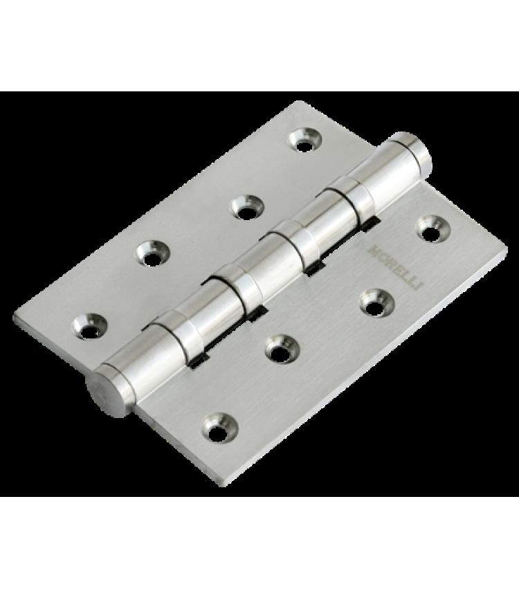 Петля Morelli латунная универсальная MBU 100X70X3-4BB SN Цвет - Белый никель