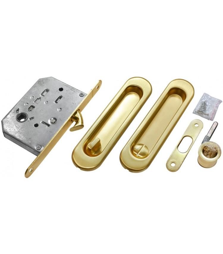 Комплект для раздвижных дверей MORELLI MHS150 WC SG Цвет - Матовое золото