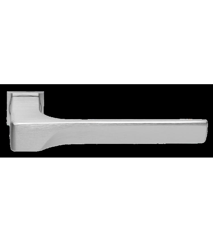 Дверные ручки MORELLI LUXURY FIORD-SM CSA Цвет - Матовый хром