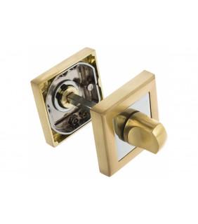 Ручка поворотная BK6 QL SG/CP-4 матовое золото/хром